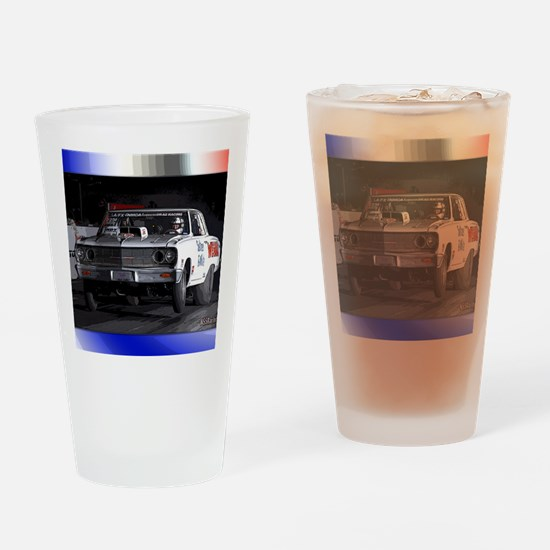 carNovemberNights Drinking Glass