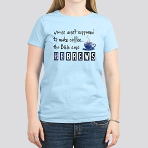 Bible Says Hebrews Women's Pink T-Shirt