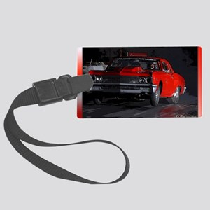 carSeptemberNights Large Luggage Tag