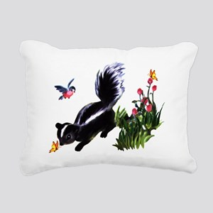skunk Rectangular Canvas Pillow