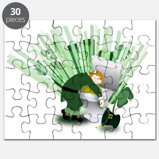 Passed Out Leprechaun Puzzle