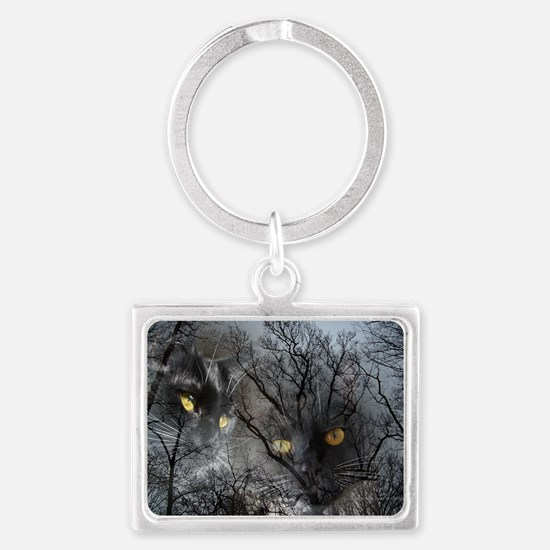 Enchanted forest Landscape Keychain