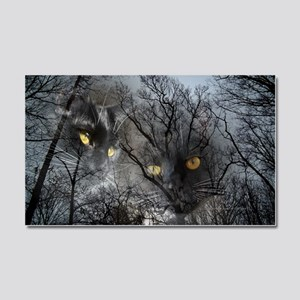 Enchanted forest Car Magnet 20 x 12