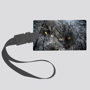 Enchanted forest Large Luggage Tag