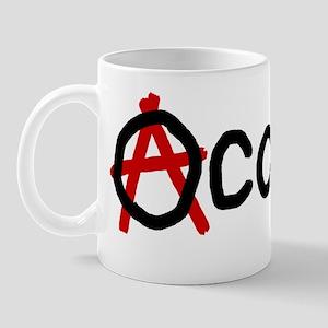 occupy anarchy 02 Mug