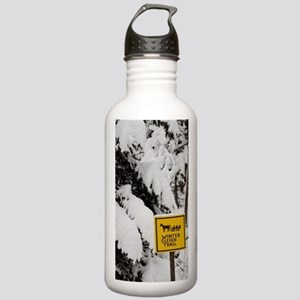 Winter sleigh ride sig Stainless Water Bottle 1.0L