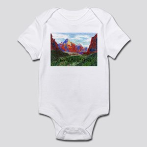 Zion: Down Canyon Infant Bodysuit