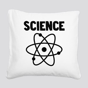 Science Atom Square Canvas Pillow