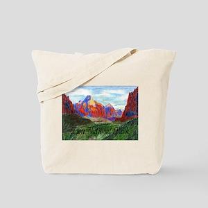 Zion: Down Canyon Tote Bag