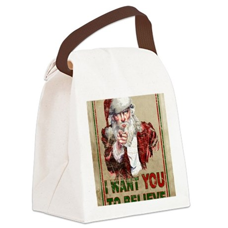 believe_poster Canvas Lunch Bag