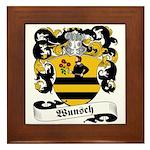 Wunsch Coat of Arms Framed Tile