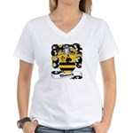 Wunsch Coat of Arms Women's V-Neck T-Shirt
