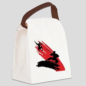 ninjaArt1 Canvas Lunch Bag