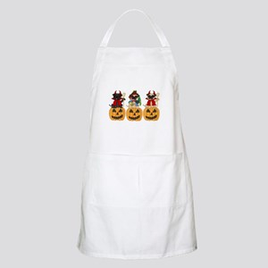 Halloween Trick or Treat Pugs Apron