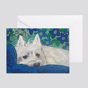 Mouse Westie Greeting Card