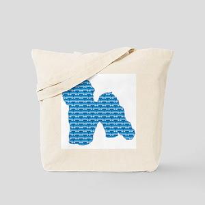 Bone Bichon Tote Bag