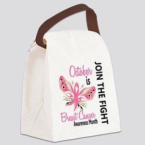 - Breast Cancer Awareness Month Canvas Lunch Bag