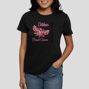 - Breast Cancer Awareness Mon Women's Dark T-Shirt