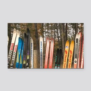 Kimberly. Snow Fence made fro Rectangle Car Magnet