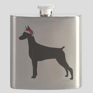 Santa Doby Flask