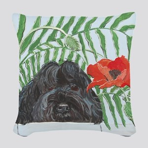 SQLite Portie Woven Throw Pillow