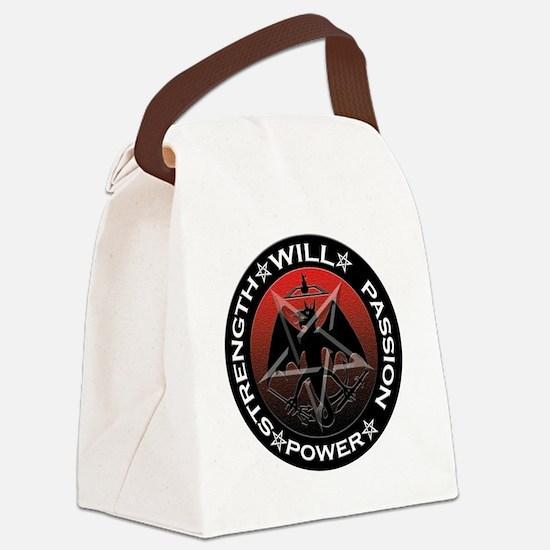 BloofireLogoPlainShirt Canvas Lunch Bag