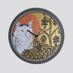 SQ KlimptCat Wall Clock