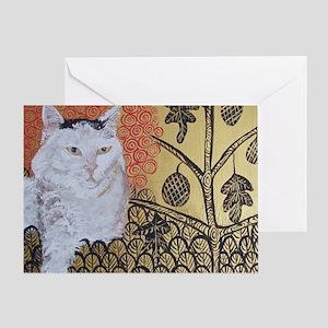 Mouse KlimptCat Greeting Card