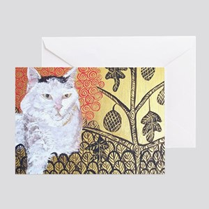MouseLite KlimptCat Greeting Card
