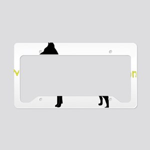 DobermanBrother License Plate Holder