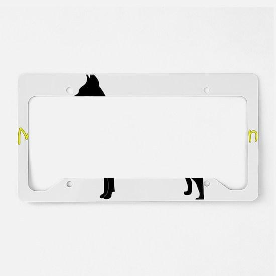 DobermanBrother License Plate Holder