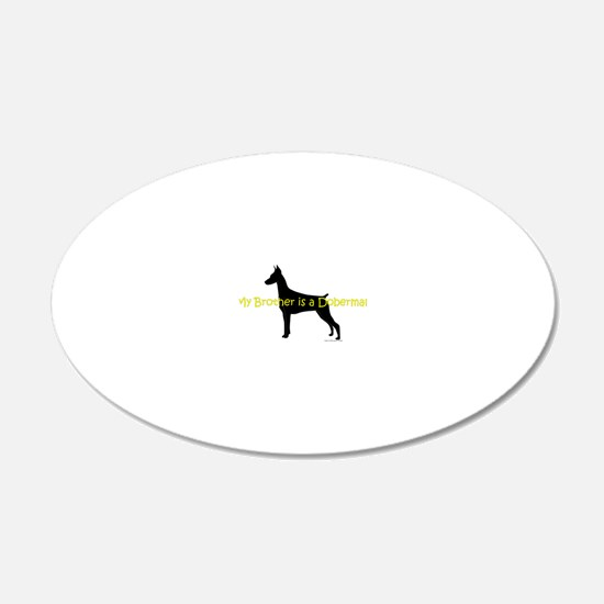 DobermanBrother Wall Decal