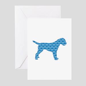 Bone Terrier Greeting Cards (Pk of 10)