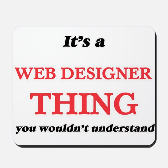 It's and Web Designer thing, you wou Mousepad