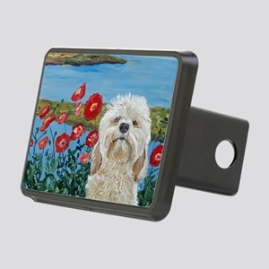 Mouse Labradoodle Rectangular Hitch Cover