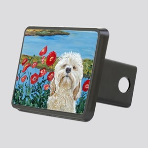 MouseLite Labradoodle Rectangular Hitch Cover