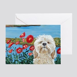 MouseLite Labradoodle Greeting Card