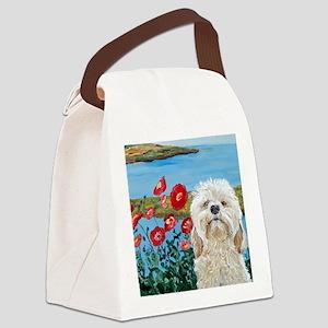 MouseLite Labradoodle Canvas Lunch Bag