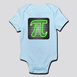 Neon Pi Day Body Suit