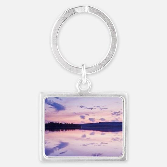 Canada, BC, Salt Spring Island, Landscape Keychain