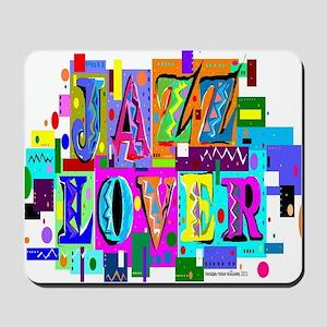 jazz lover 8 Mousepad