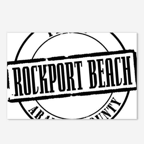 Rockport Beach Title W Postcards (Package of 8)