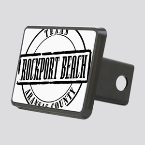 Rockport Beach Title W Rectangular Hitch Cover