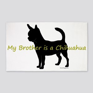 ChihuahuaBrother 3'x5' Area Rug