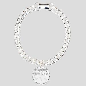 The 1st step Charm Bracelet, One Charm