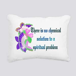 Spiritual Problem Rectangular Canvas Pillow