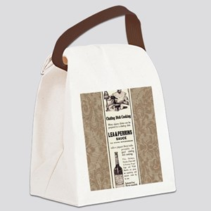 Lea and Perrins Sauce Canvas Lunch Bag