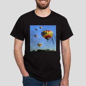 Five Balloons Dark T-Shirt