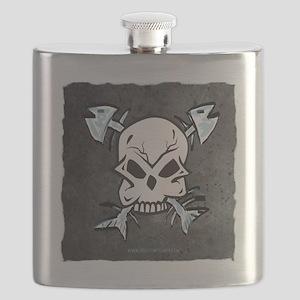 skullfishbones Flask