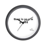 Pwned Wall Clock